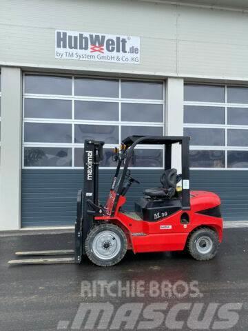 Maximal Gabelstapler Dieselstapler 3000kg 3m Hub