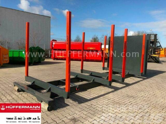 MB Trac A1 Unterrahmen mit EXTE Rungen - Abrollcontainer