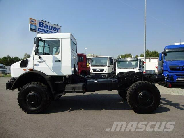 MB Trac Unimog U 5023 Neu/4x4/Fahrgestell/NA/Klima