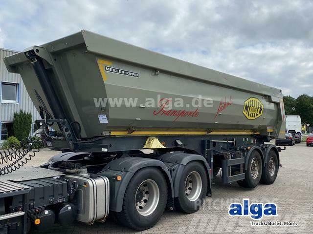 Meiller KISA 2, Stahl, 25m³, hydr. Heckklappe,SAF-Achsen