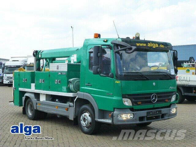 Mercedes-Benz 1018 Atego, T1012/12 m. Arbeitshöhe/Klima!