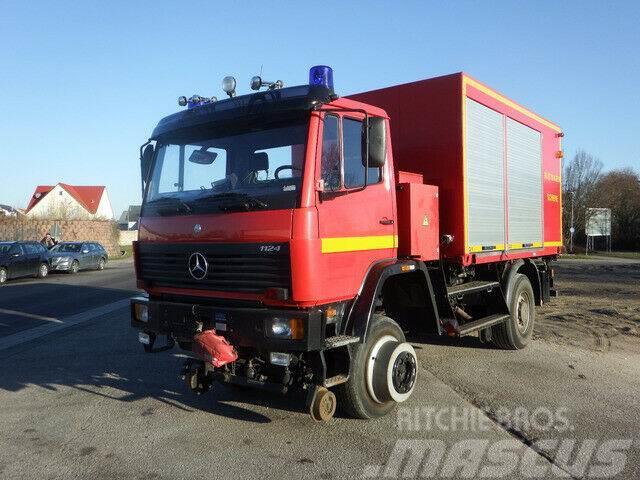Mercedes-Benz 1124AF 4x4 ZW Feuerwehr Zweiwege Schienenverkehr