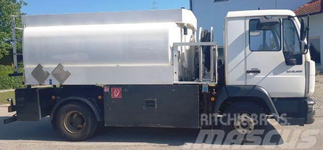 Mercedes-Benz 12.180 / Tankwagen / ADR / Diesel Altöl Benzin