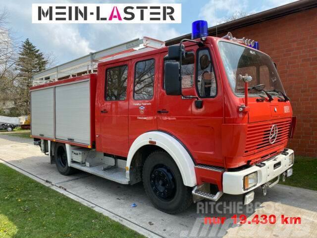 Mercedes-Benz 1222 Feuerwehr Doppelkabine LF16 nur 19.430 km