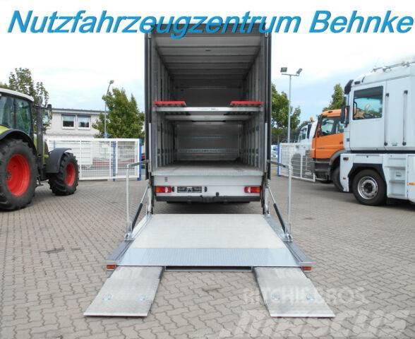 Mercedes-Benz 1222 L Atego Doppelstock/ geschl.Koffer/ 2xFhzg.