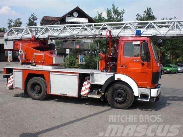 Mercedes-Benz 1222F DL 23-12 Feuerwehr Drehleiter ABS