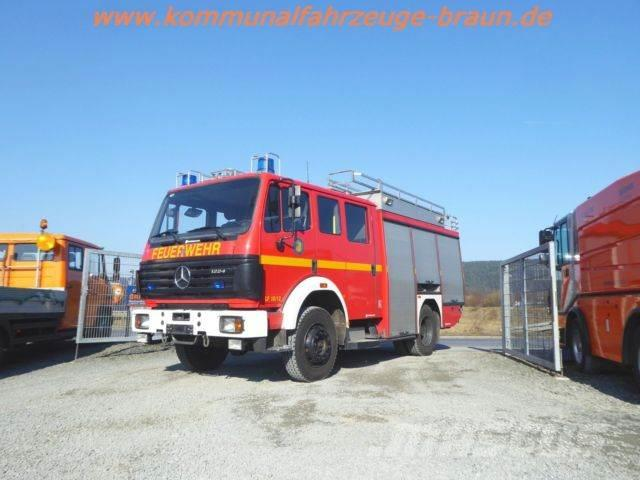 Mercedes-Benz 1224 AF SK Feuerwehr LF16/12 4x4 Doka