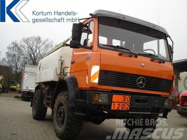 Mercedes-Benz 1317AK Tankwagen, 4 x 4, 8000 ltr Tank