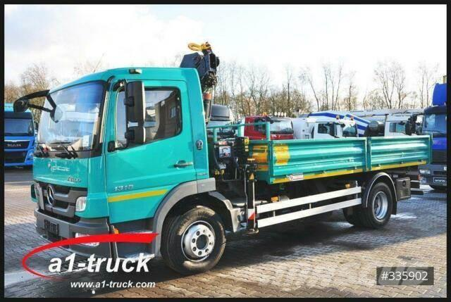 Mercedes-Benz 1318 Bluetec 5, Kipper + Kran, HU 02/2021