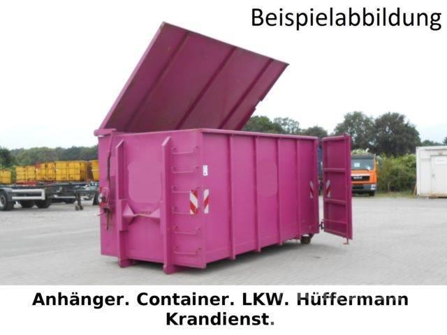mercedes benz 15cbm abrollcontainer windendeckel city. Black Bedroom Furniture Sets. Home Design Ideas