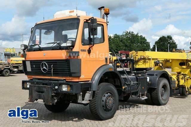 Mercedes-Benz 1729 AK 4x4, Allrad, ABS, nur 42.000km, Klima