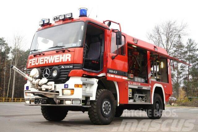 Mercedes-Benz 1843 4x4 Pulverlöschfahrzeug Feuerwehr