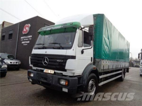 Used mercedes benz 1924 l belgium truck box trucks year for Mercedes benz belgium