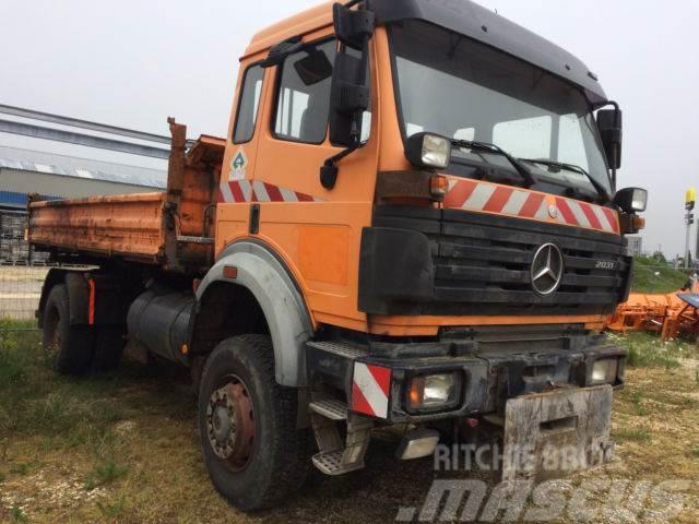 Mercedes-Benz 2031 AK Allradkipper Winterdienst Kommunal