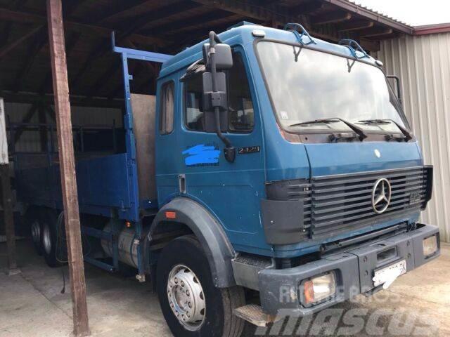 Mercedes-Benz 2429 6x2 Pritsche V8 Eps 2538 2638 2644 2544