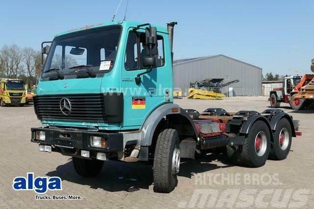 Mercedes-Benz 2435 K, 2635 K 6x4, Blattfederung, Nebenantrieb