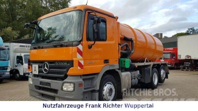 Mercedes-Benz 2532 Saugwagen Tollense,Demag Pumpe,14Tltr.Top!