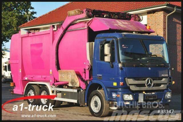 Mercedes-Benz 2536, HN Schörling, ÜKL Frontlader Waage