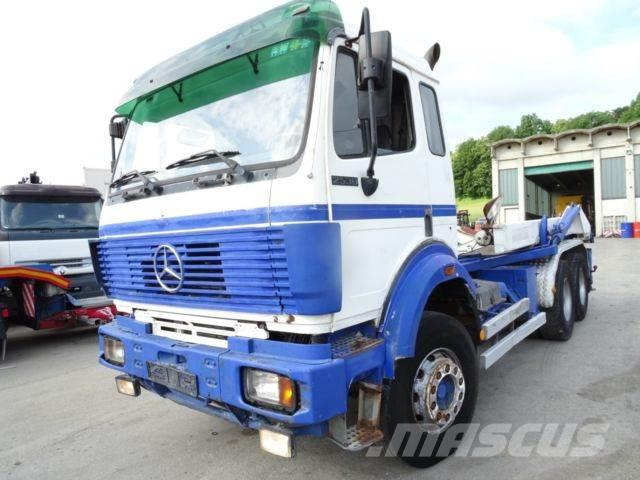 Mercedes-Benz 2538 6x4 Manual gearbox M cabin V8 turbo
