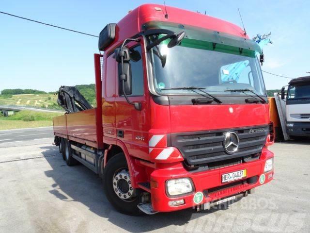 Mercedes-Benz 2541 6x2 HMF 2000 393tkm Wie neu