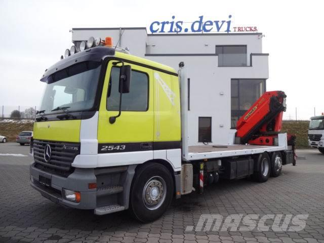 Mercedes-Benz 2543 6x2 PK 36002 Palfinger Containerverieglung