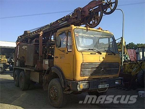Mercedes-Benz 2626 6x6 wasserboher/waterdrill/foreuse eau