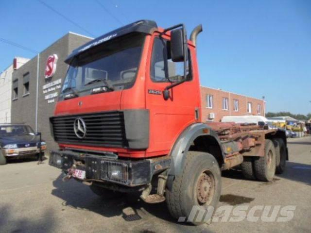 Mercedes benz 2629 as belgium truck 6x6 abrollkipper for Mercedes benz belgium