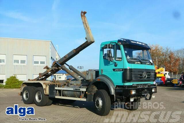 Mercedes-Benz 2631 A 6x6, Allrad, Meiller RK 19.65, Ellermann