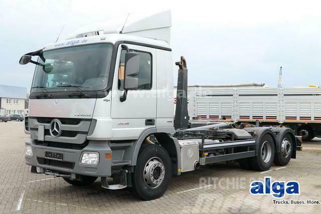 Mercedes-Benz 2636 L Actros 6x2, Meiller RK20.67, Lenk-Lift
