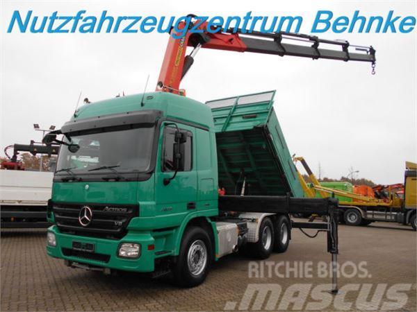 Mercedes-Benz 2655 6x4 Kipper/SZM/Kran PK38502/4 Punkt