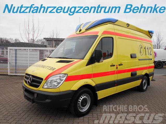 Mercedes benz 318 cdi sprinter rtw ambulanz mobile delfis for Mobile mercedes benz