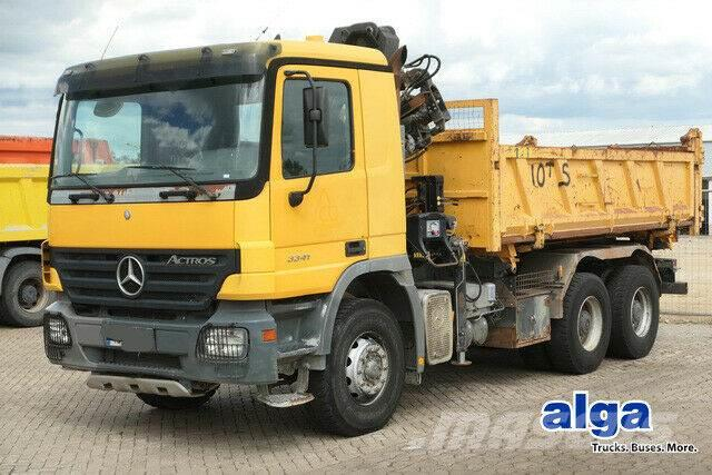 Mercedes-Benz 3341 6x4 Actros/Kran Hiab 102B/Bordmatik/AHK/