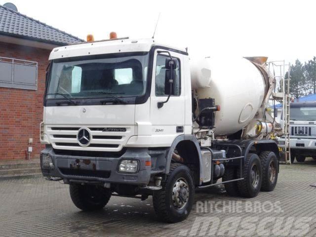 Mercedes-Benz 3341 6x6 / 7m³Mixer / Klima / Retarder