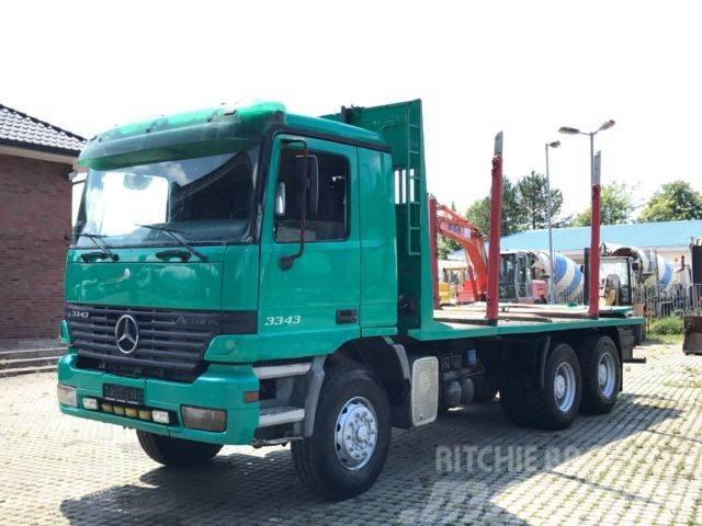 Mercedes-Benz 3343 6X4 Retarder Blatt 3.90m Radstand