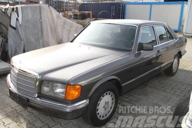 Mercedes-Benz 380 + Bewertungsurkunde