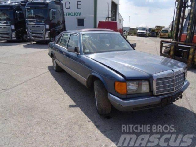 Mercedes-Benz 380 SEL automat, benzin,not driveable, vin 538