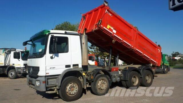 Mercedes-Benz 4141 8X4 3 side tipp
