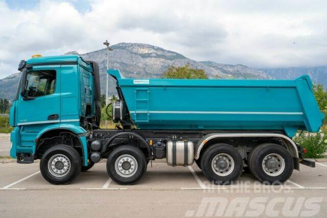 Mercedes-Benz 4142 8X4 EuromixMTP WECHSELSYSTEM KIPPER+MISCHE