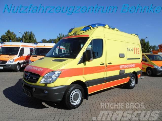 Mercedes-Benz 419 CDI Sprinter RTW Ambulanz Mobile Delfis