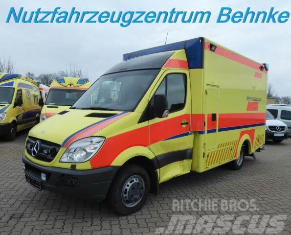 Mercedes-Benz 519 CDI Sprinter RTW WAS Kofferaufbau/ 1.Hand