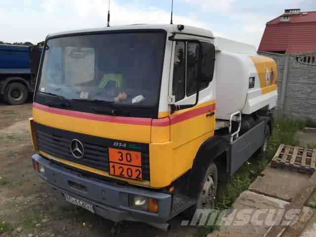 Mercedes benz 814 tanker trucks year of mnftr 1997 price for Mercedes benz f cell price