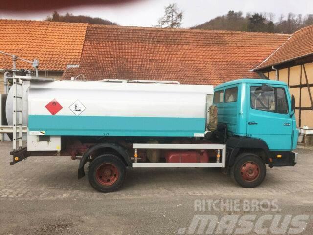 Mercedes-Benz 814 Diesel/Heizöl Tankwagen 6000 Liter Esterer