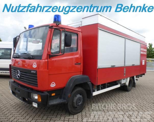 Mercedes-Benz 814 Feuerwehr orig.4.499km neuw./Liebhaberfahrz.