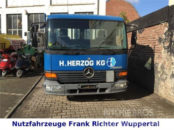 Mercedes-Benz 815 Atego, Ideal f.Gerüstbau, D-Fzg, TÜV 9/16