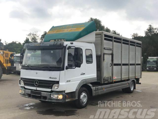 Mercedes-Benz 818 4x2 / Viehwagen / KABA Aufbau