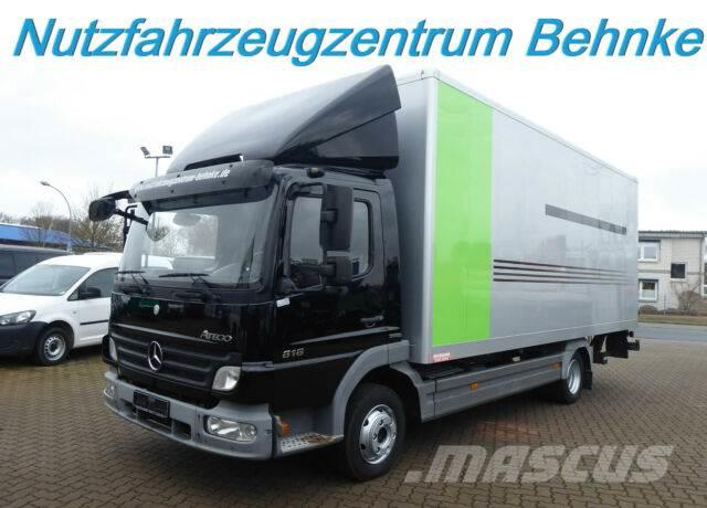 Mercedes-Benz 818 Atego Möbelkoffer/ seitl. Tür/ LBW/ Euro5