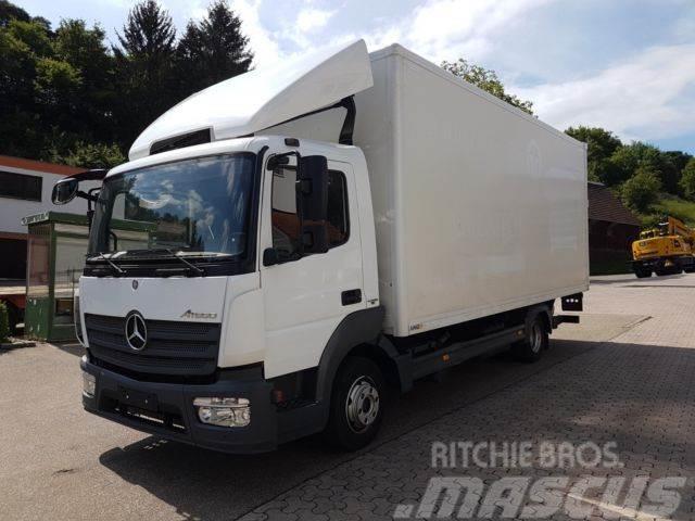 Mercedes-Benz 818L Koffer6,10m.,Klima,AHK40,FleetBoard,Bär-LBW