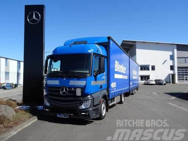 Mercedes-Benz Actros 1840 LL 4x2 Curtainsider Volumen Euro6