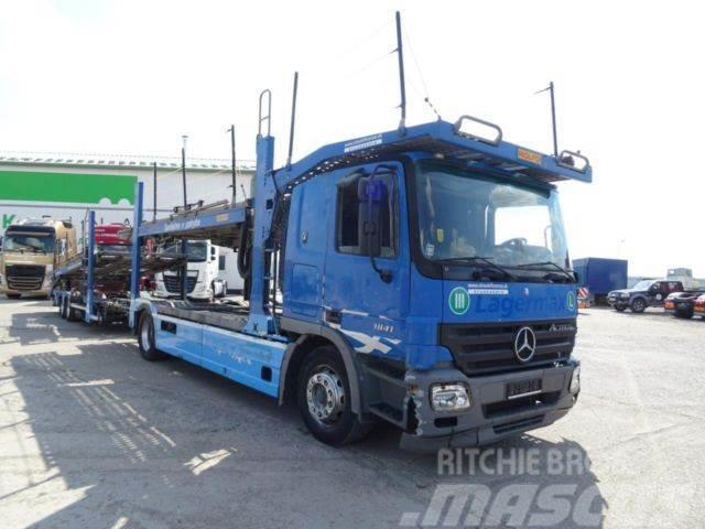 Mercedes-Benz ACTROS 1841 autotransporter,E4,ret+ROLFO,818+404