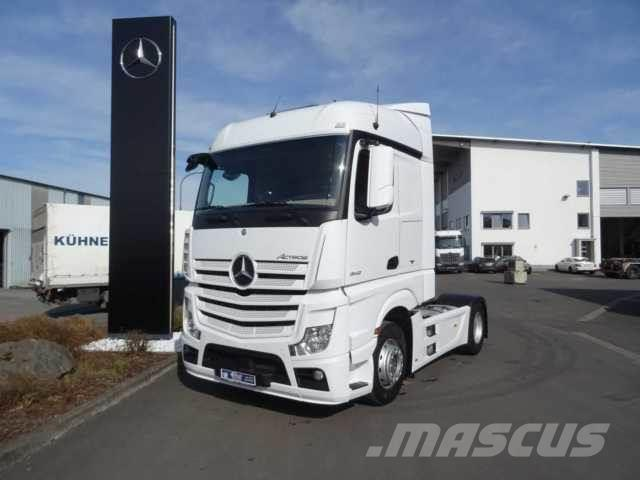 Used mercedes benz actros 1842 ls 4x2 retarder spoiler for Mercedes benz f cell price